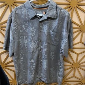 Quicksilver Waterman Collection casual button down